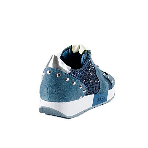 Plombe Avion Suede Liu Jo Aura Piombe Running Femme Sneaker wnSY1qB