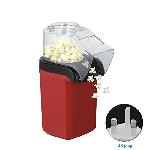 Hot Air Popcorn Maker, Fresh Popcorn Maker Perfect for Movie Night 110/220V by cyclamen9