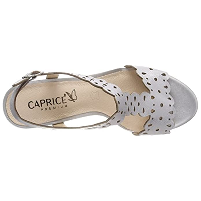 Scarpe E Borse Da Donna Sandali Caprice 28312 Con Cinturino Alla Caviglia