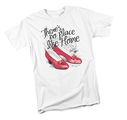 Wizard Of Oz Dorthy (Ruby Slippers -- The Wizard Of Oz Youth T-Shirt, Youth Large)