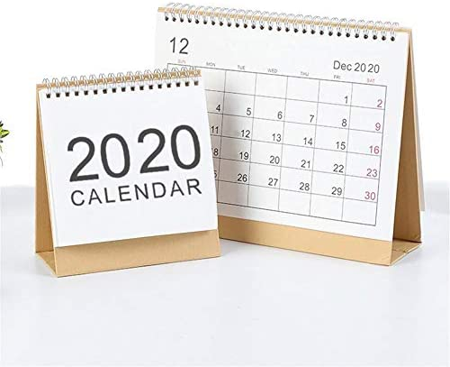 LUCYPAPASHOW Tischkalender I Wochenkalender im Quer-Format I 52 Wochen, 1 Woche 2 Seiten I Terminplaner 2020