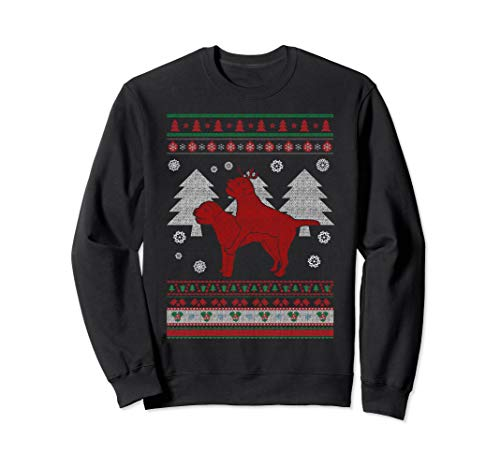 Humping Border Terrier Ugly Christmas Sweater Border Terrier -