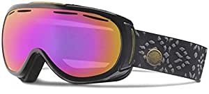 Giro Amulet Snow Goggle - Women's Black Laurel with Amber Pink Lens
