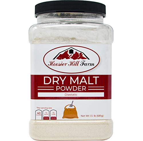 Hoosier Hill Farm Dry Malt (Diastatic) baking Powder 1.5 lb. ()