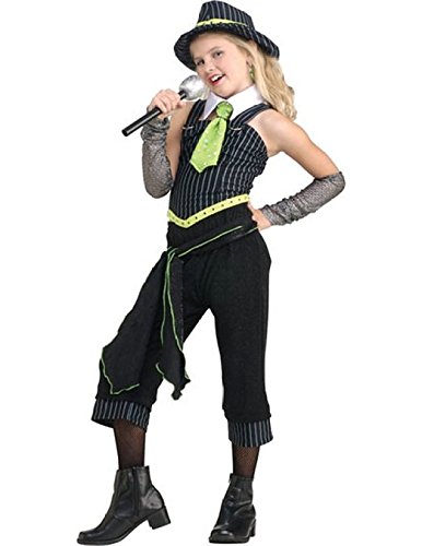 Gangster Moll Plus Costumes (Rubie's Costume Child's Gun Moll Costume, One Color, Medium)