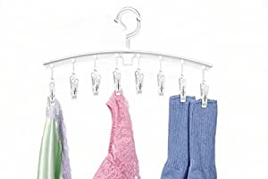 Whitmor Clip & Drip Add-On Hangers -White - Set of 3