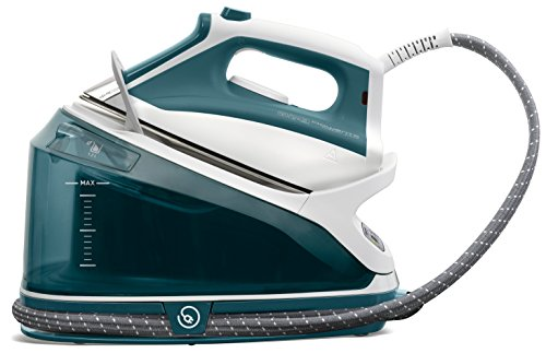 - Rowenta DG7530 Compact Steam 1800-Watt Steam Iron Station Stainless Steel Soleplate , 400-Hole, Green