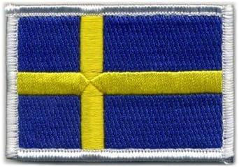 Matriz Velcro parche de bandera de Suecia: Amazon.es: Juguetes y juegos