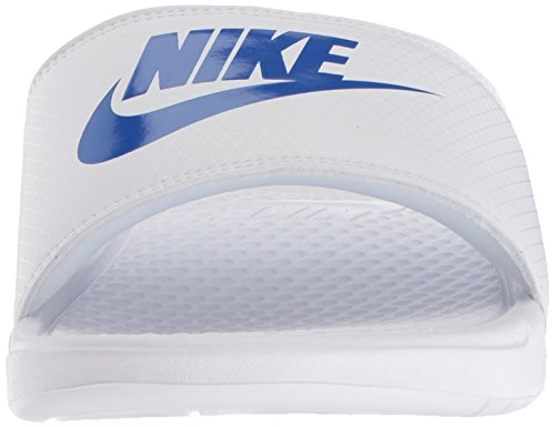 amp; Jdi white Flip White Pool Beach Benassi Nike s Varsity Flops Royal Multicolored Men pqXOOw