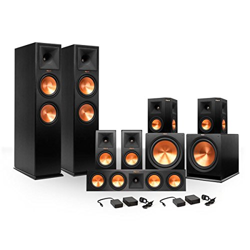 Klipsch 7.2 RP260 Premiere Speaker Bundle w/ Subs/FREE Wirel