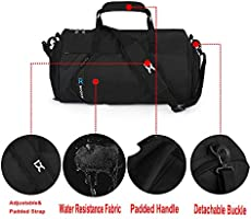 IX Fitness Sport Small Gym Bag with Shoes Compartment