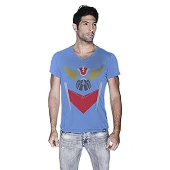 Creo Crindyzer Boss Super Hero T-Shirt For Men - Xl, Blue