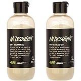 2 PCS Lush No Drought Dry Shampoo 115g Hair Shampoo Powder Non-rinse