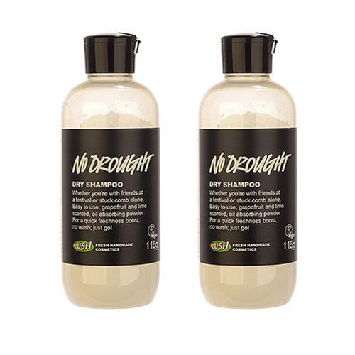 2 PCS Lush No Drought Dry Shampoo 115g Hair Shampoo Powder Non-rinse