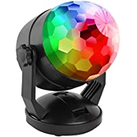 Portable Sound Activated Party Lights for Outdoor and...