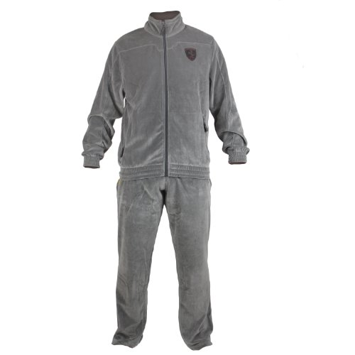 Puma Scuderini Ferrari Velour Track Suit - Dark Shadow - Mens