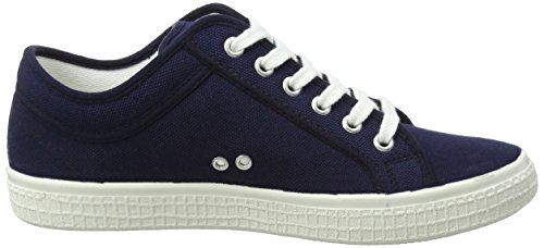 Blau Unisex Dark Kawasaki Erwachsene Navy 0 2 Sneaker With Tennis Stripes YwFdwT