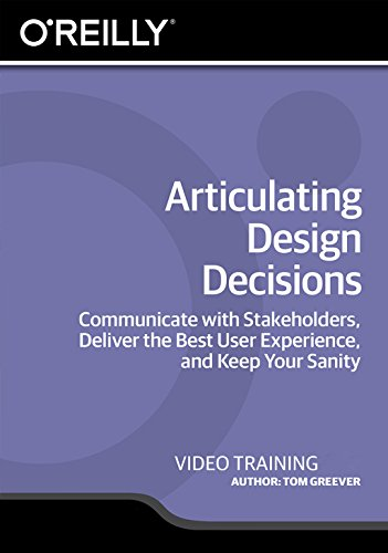Software : Articulating Design Decisions [Online Code]