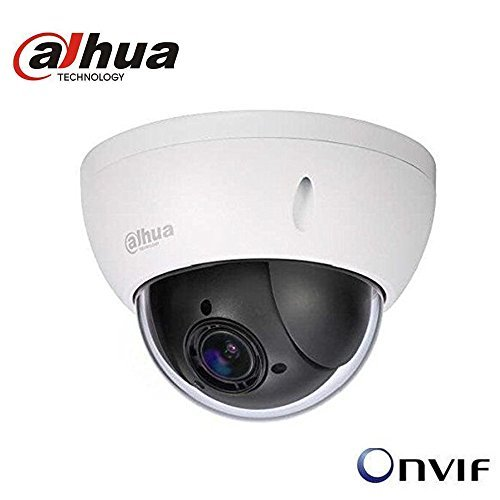 (Dahua 2MP PTZ IP Camera SD22204T-GN 2.7mm~11mm 4x Optical Zoom POE WDR ONVIF IP66 IK10 Outdoor Network Dome Camera English)