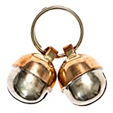 2 Extra Loud Cat & Dog Bells Save Birds & Wildlife | Luxury Handmade Copper | Beau's Bells (Small)