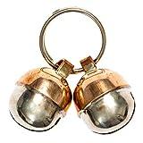 2 Extra Loud Cat & Dog Bells Save Birds & Wildlife | Luxury Handmade Copper | Beau's Bells (Small)
