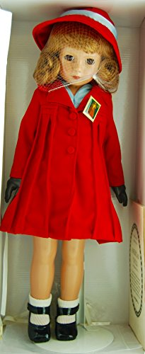 Company - Item #V 611 - American Child Stamp Doll - 18 Inches Tall - Replica of 1936 Doll - COA - Stamp Pin - OOP / MIB - Very Rare - Highly Collectible (Effanbee Vinyl Doll)