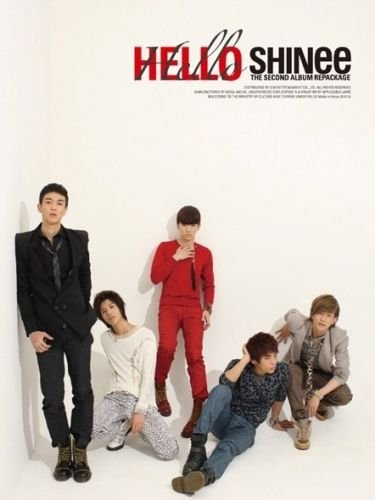SHINEE [HELLO] 2nd Repackage Album CD+Photobook+Tracking Number K-POP SEALED