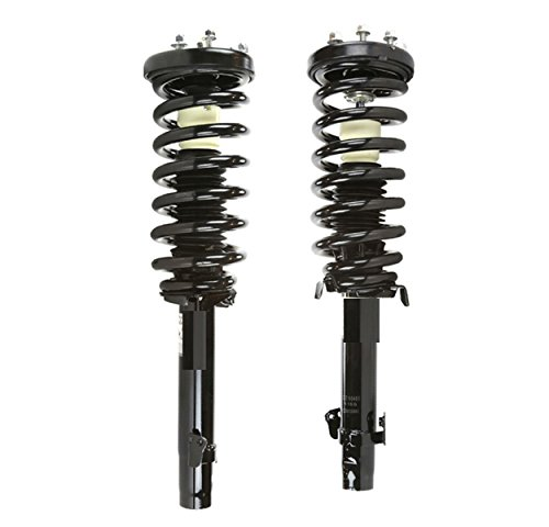 DTA 50147 Front Complete Strut Assemblies With Springs and Mounts Ready to Install OE Replacement -2-pc Pair Fits 2008-2012 Honda Accord ()
