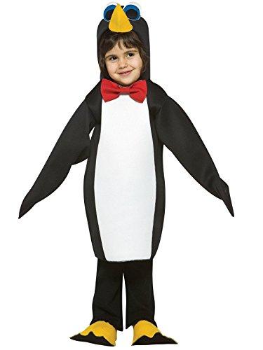Rasta Imposta Light Weight Penguin, Black/White, 3-4T -