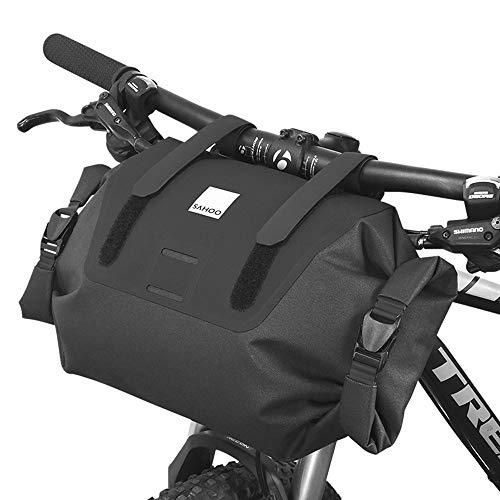 Roswheel Bike Handlebar Bag Waterproof Bicycle Front Storage Bag, Mountain Road MTB Bike Front Frame Bag
