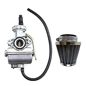 amazon com  zxtdr pz16 16mm carburetor carb  u0026 35mm air