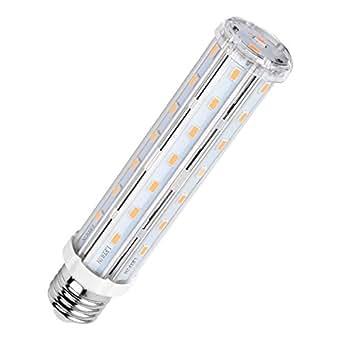 MHtech 15W E26 LED Corn Light Bulb T10 Tubular Bulb LED Warm White 2700K 1500 Lumen 120 Watts Incandescent Equivalent E26 Medium Base Lamp Bulb LED Energy Saving Home Light Corn Bulb