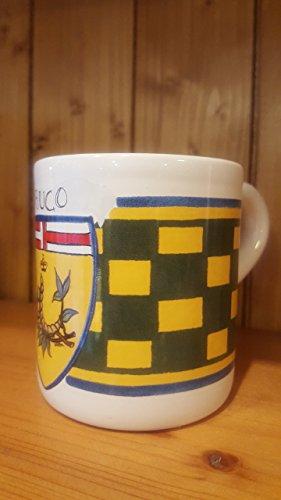 Caterpillar Mug. Mug with the typical decoration of the Contrade of the Palio di Siena. - Mug Caterpillar