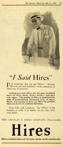 1920 Ad Charles E Hires Co Juice Beverage Roots Herb Berries Drink Vintage - Original Print Ad