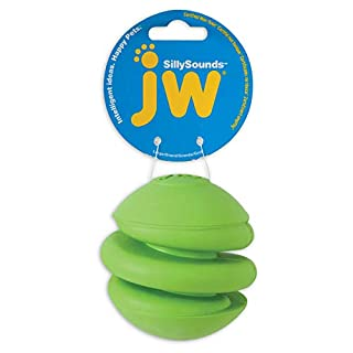 JW Pet Company Sillysounds Spring Ball, Large