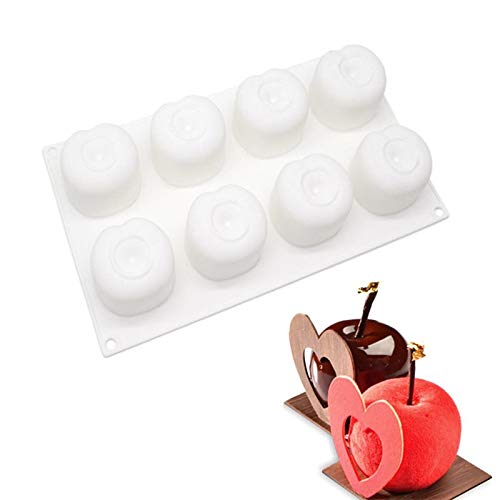 1 Bag 3D Cake Decorating Mold Silicone Molds Baking Dish Tools For Dessert Mousse Chocolate Patisserie Bread Mould Baking Accessories