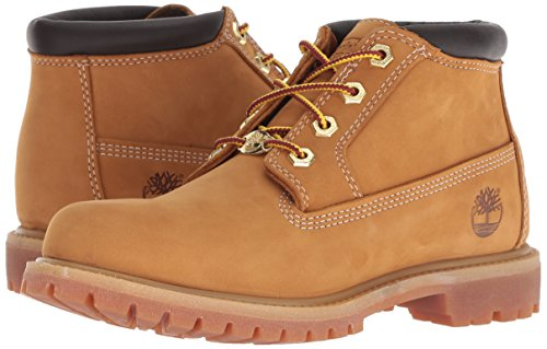 Yellow Af Dble Nubuck Bottes Jaune Femme wheat Timberland Wheat Nellie nWSqAWI
