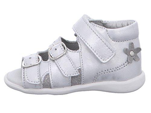 Däumling Blair 020221-S-71 Kinder Lauflern-Sandale in Schmal Silber