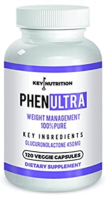 Phenultra- Energy Boosting - Weight Management - Diet Pills - 120 Potent Veggie Capsules