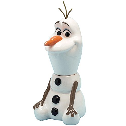 Disney Frozen Olaf Salt And Pepper Shaker Set Magnetic Collectible Snowman ()