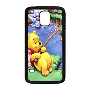 Winnie the pooh,cartoon winnie, winnie and tiger series protective case cover For Samsung Galaxy S5 LHSB9288152