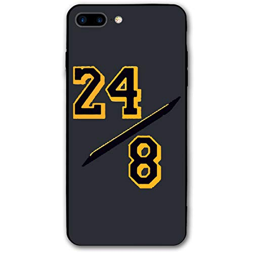 Favorite Basketball Player IPhone7/8s Plus Case KOB-e Bryant Black-Mamba Phone Case Cover Suitable for iPhone 7/8s Plus