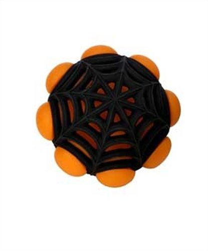 JW Pet Company Arachnoid Ball Dog Toy (Colors Vary)