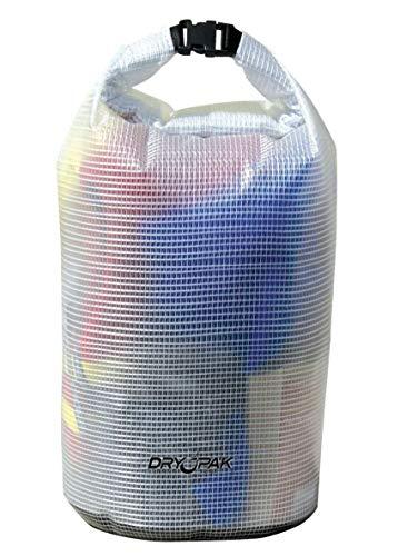 - Kwik Tek DRY PAK Roll Top Dry Gear Bag (Clear)