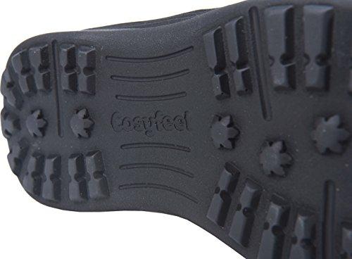 Cosyfeet Moose Boots - Extra Roomy (Eeeee+ Width Fitting) Petrol Blue Nubuck u03xjUBXpS
