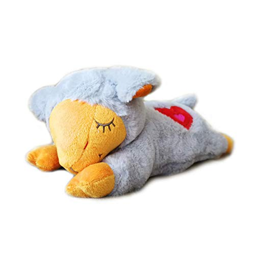 - All for Paws Puppy Behavioral Aid Dog Heart Beat Sheep Plush Toy New