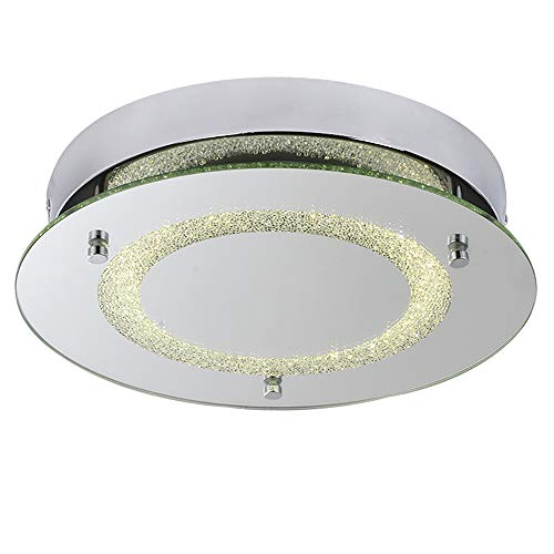 AUDIAN Flush Mount Ceiling Light Ceiling Lamp Dimmable LED 11Inch 1320lm Daylight White Color 12W (100W Incandescent Bulb Equivalent) Ceiling Lighting for Kitchen Bathroom Kitchen