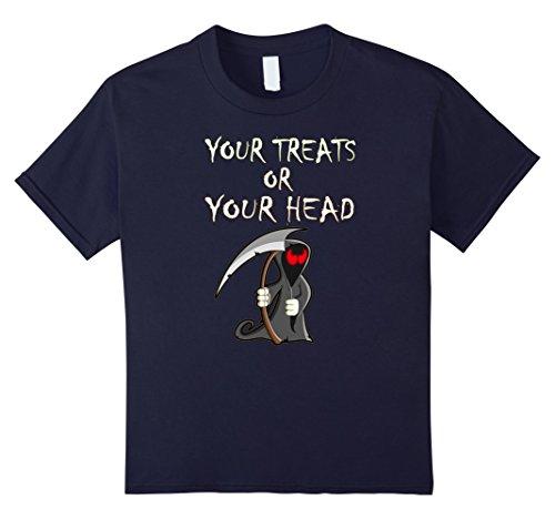 Too Soon Halloween Costumes (Kids Halloween 2017 Trick Or Treat T Shirt Gift Idea Halloween T 12 Navy)