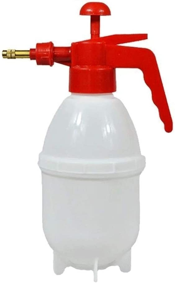 Aiyu Botella de Spray de Gran riego Puede Cabeza de Ducha de riego Estilo Pastoral Puede pulverizador Botella de Spray es Adecuado for huertos Familiares de hortalizas (Color : Red)