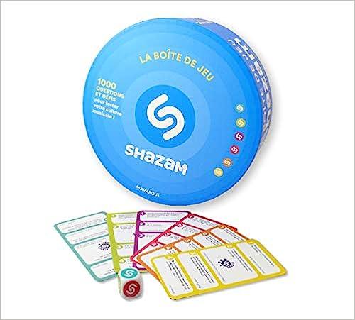 Jeu musical : La boîte à quiz Shazam